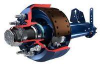 BPW оси и агрегаты в сборе с рессорами